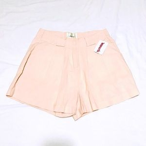 NEW Anthropologie Elevenses Shorts Peach
